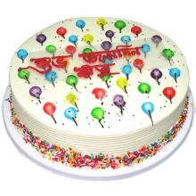 Send 2.2 Pounds Balloon Piping Jelly Cake by Kings to Dhaka in Bangladesh
