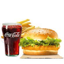 send burger king chick n crisp meal to dhaka city
