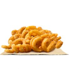 send burger king curly fries large size to dhaka city