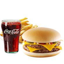send burger king double cheeseburger meal to dhaka city