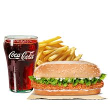send burger king long chicken meal to dhaka city