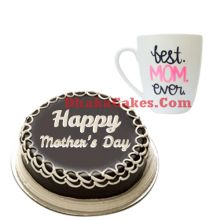 send decorated mug with cake to dhaka