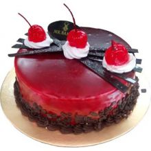 send red velvet round cake to dhaka