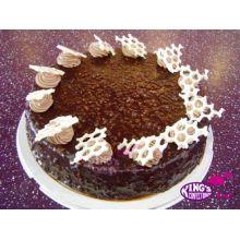 send chocolate fudge cake