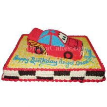 send coopers vanilla car cake to dhaka bangladesh