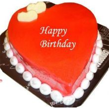 send sweet heart red velvet cake by cooper's to dhaka