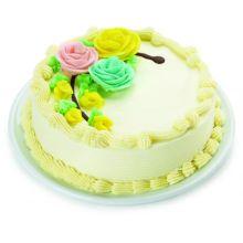 2.2 Pounds Vanilla Round Cake in bangladesh