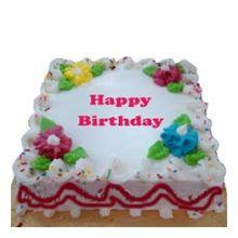 vanilla square cake  2.2 pounds