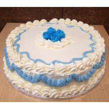 3.3 Pounds Vanilla Round Cake in Dhaka