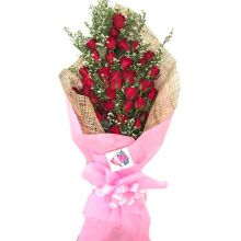send 36 roses bouquet with fillers to dhaka