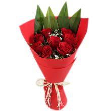 send 8 pcs roses bouquet to dhaka in bangladesh