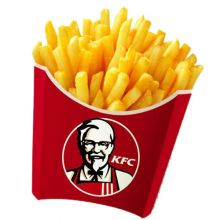 send kfc fries large size to dhaka