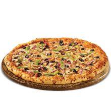 pizza inn veggie supreme pizza family