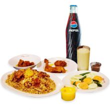 send sultans dine-1 person kachchi platter to dhaka