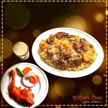 send sultans dine 3 person kachchi biryani with chicken roast and borhani to dhaka