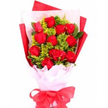 send 12 red roses to dhaka