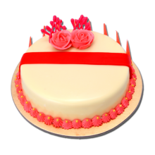 Send 2.2 Pounds Red Velvet Round Cake California Cake to Dhaka in Bangladesh
