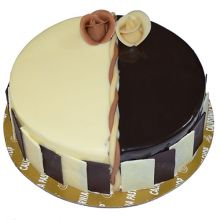 Send 2.2 Pounds Twin Round Shape Cake By California Cake to Dhaka in Bangladesh