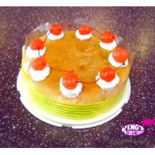 send ream cheese berry cake by Kings to Dhaka