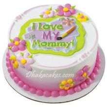 send 2.2 pounds vanilla round cake by skylark to dhaka in bangladesh