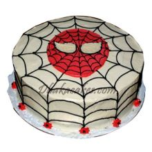 send 2.2 pounds spider-man vanilla cake by skylark to dhaka in bangladesh
