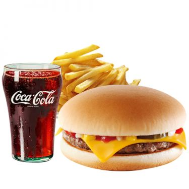 send burger king cheeseburger meal to dhaka city