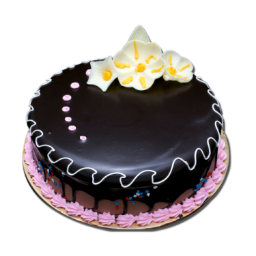 Send 2.2 Pounds Classic Chocolate Round Cake By California Cake to Dhaka in Bangladesh
